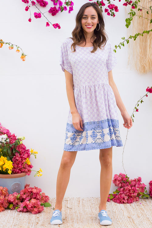 Blue Moon Lilac Lee Dress