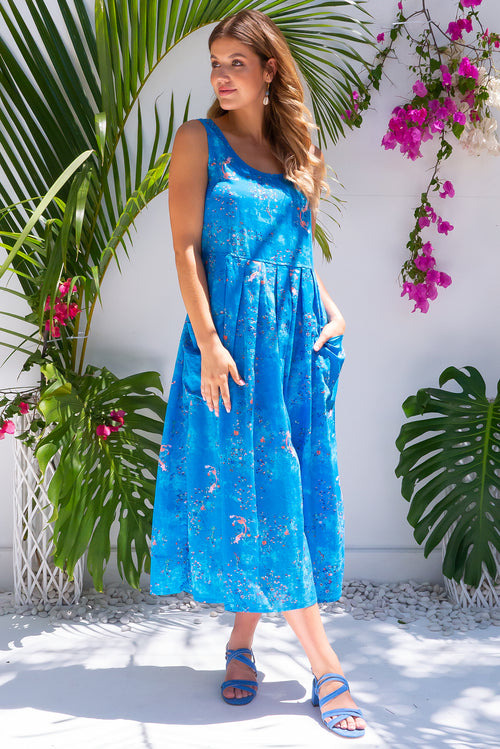 Bondi Beach Pacific Blue Dress