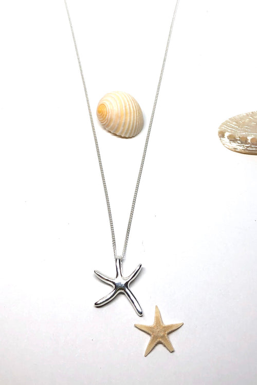 Necklace Cay Starfish Sublime in Silver