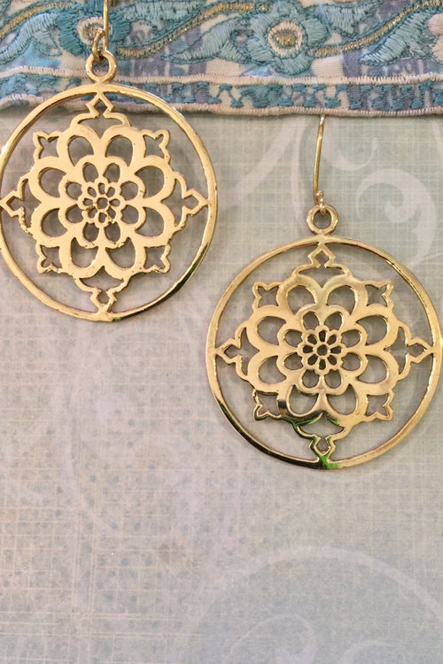 Earrings Dream Mandala