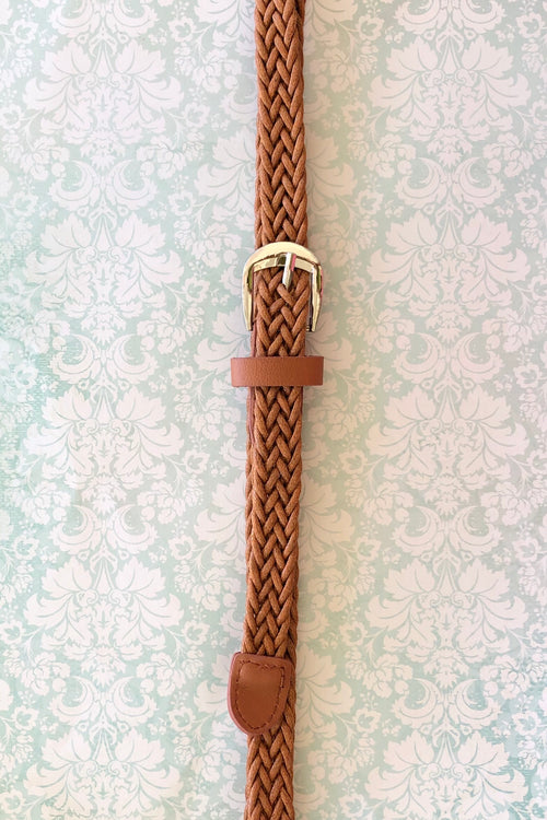 Belt Perfect Plait Tan