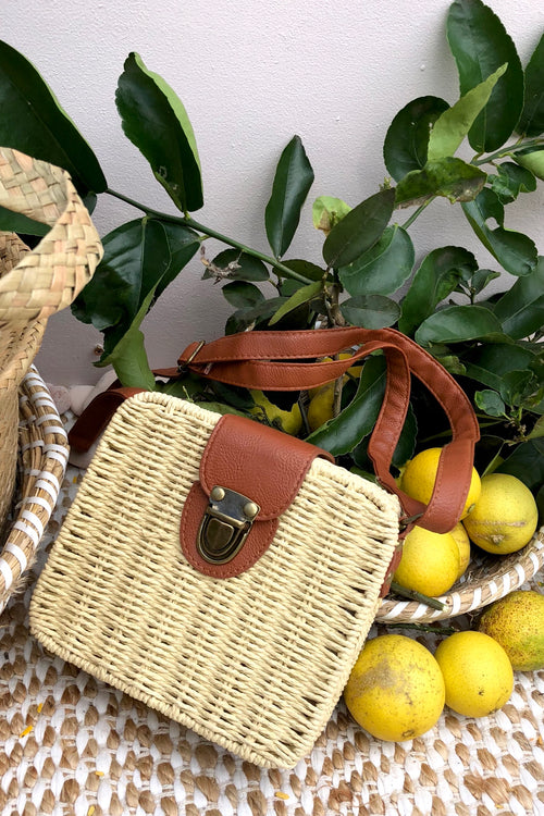 Bag Ava Lola Natural Straw