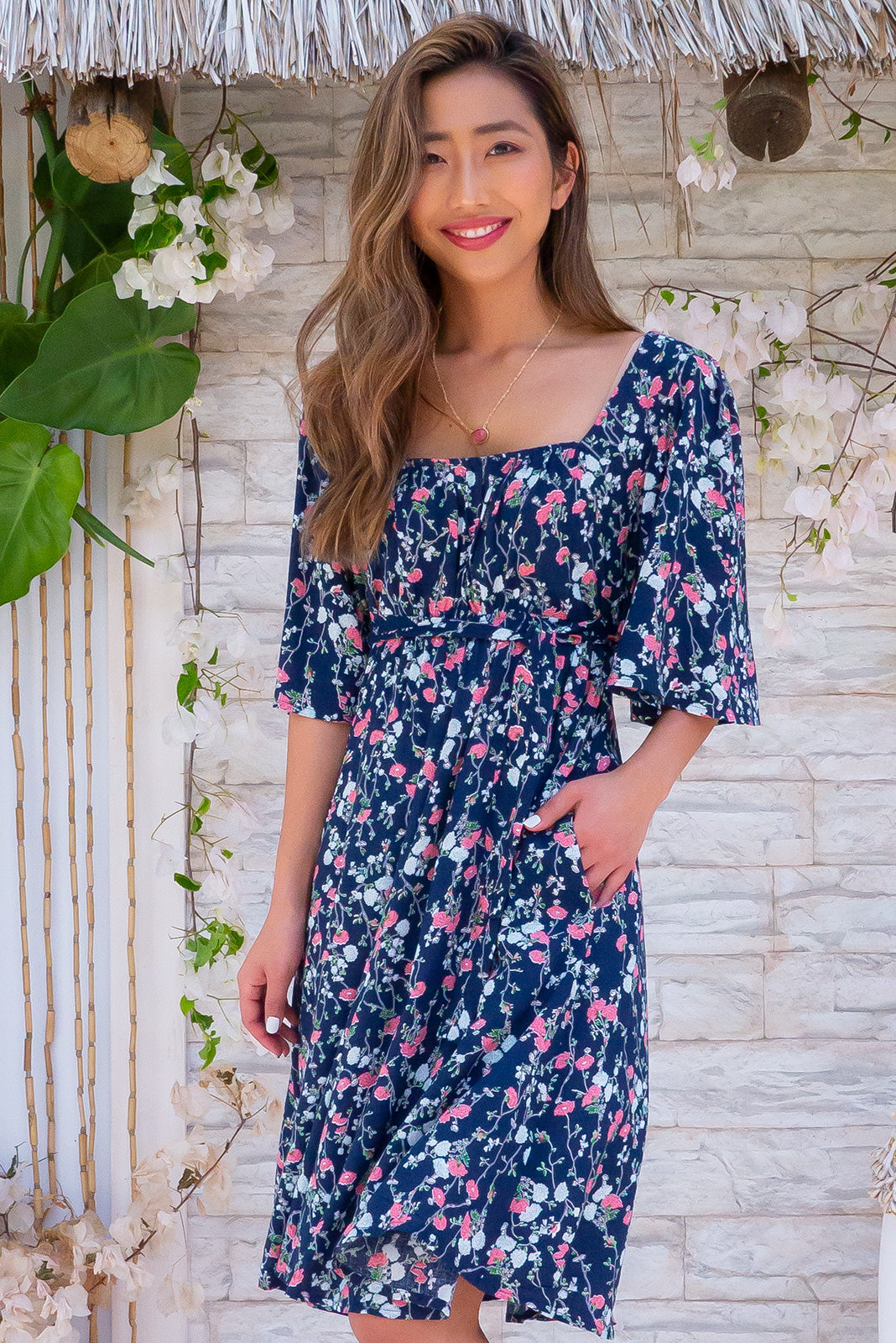 Canterbury Winsome Navy Dress
