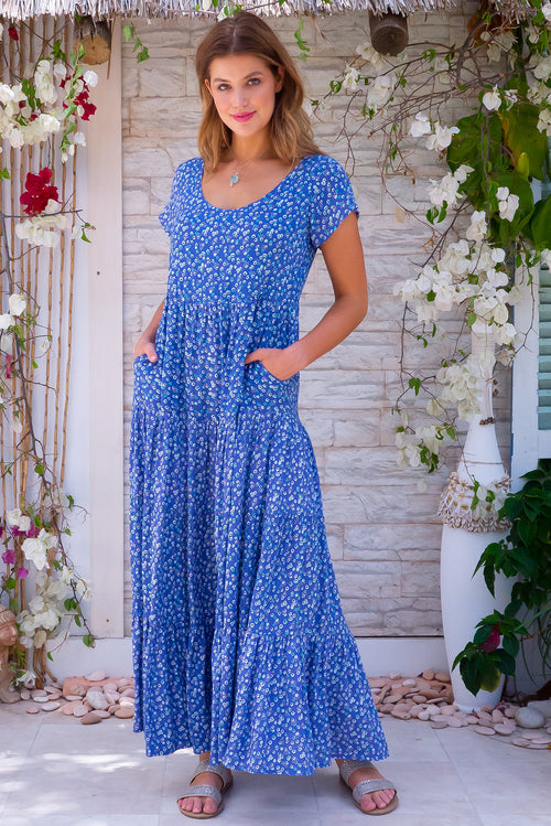 Celeste Skies Maxi Dress