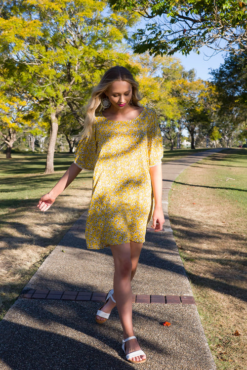 Citrine Sunshine Day Dress