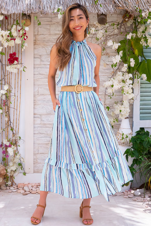 Coolum Arty Stripe Skirt
