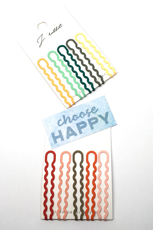 Hair Bobby Pins Wiggle Set