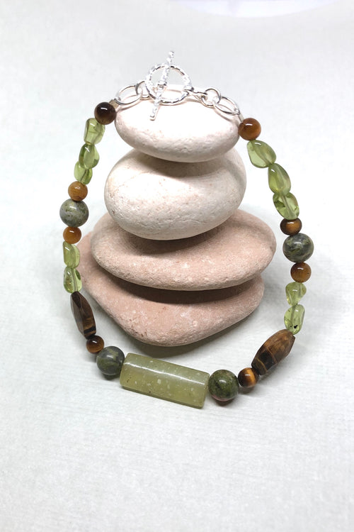Bracelet Cay Earth Natural Gemstone