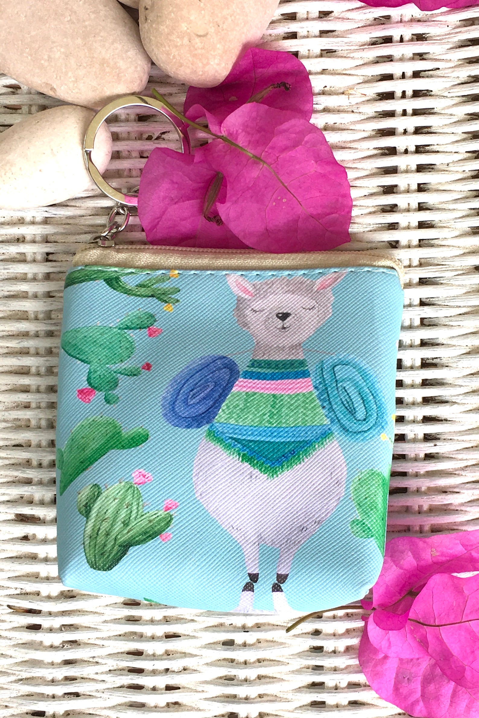 Yeah Mini Coin Purse Llama Mystic in Four Colours, cute alpaca purse