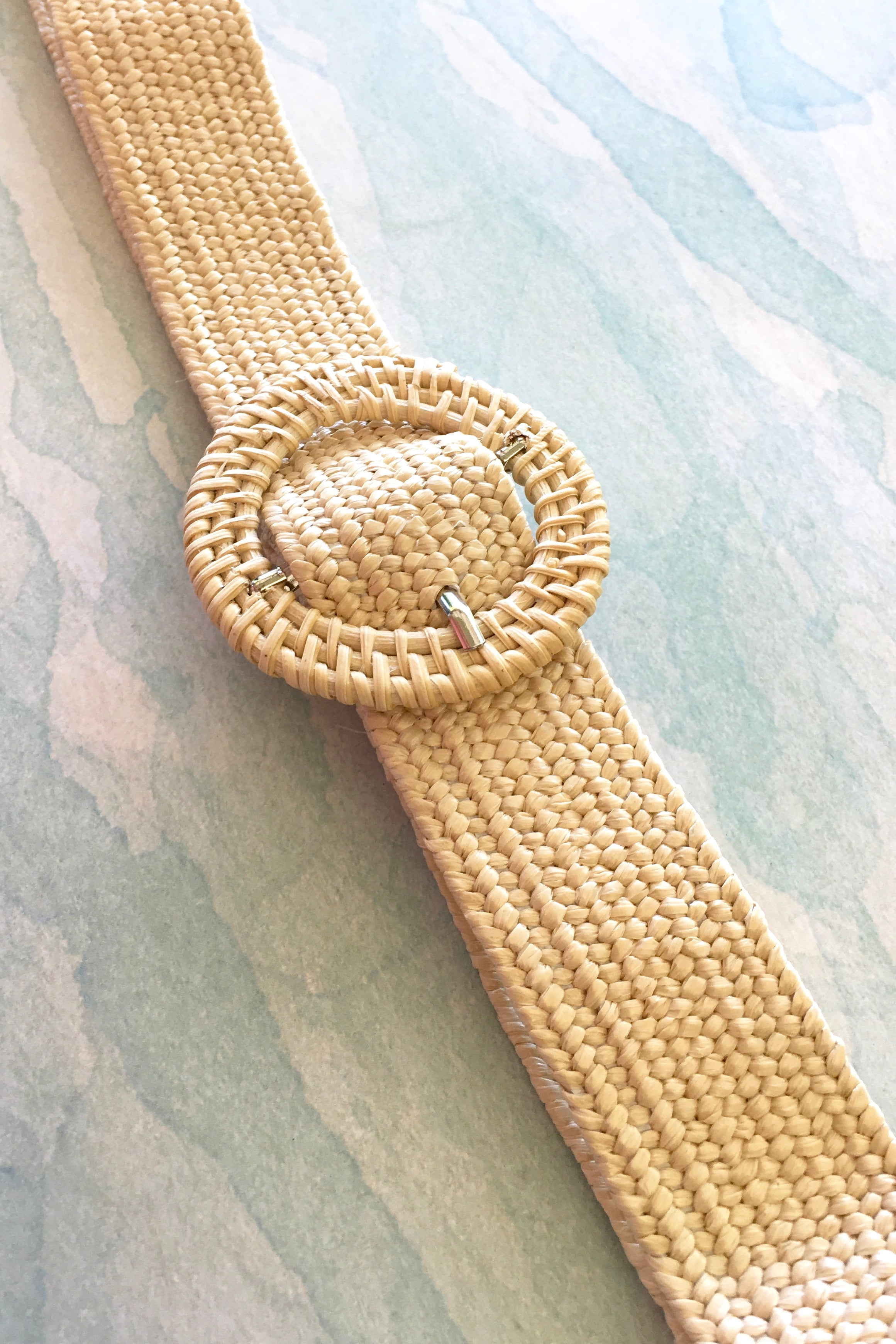 Belt Rattan Stretch Cream