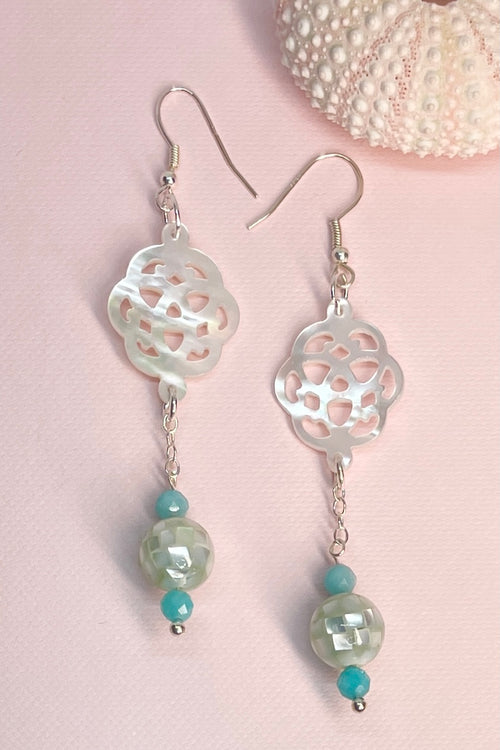 Earrings Cay Caribbean Calm