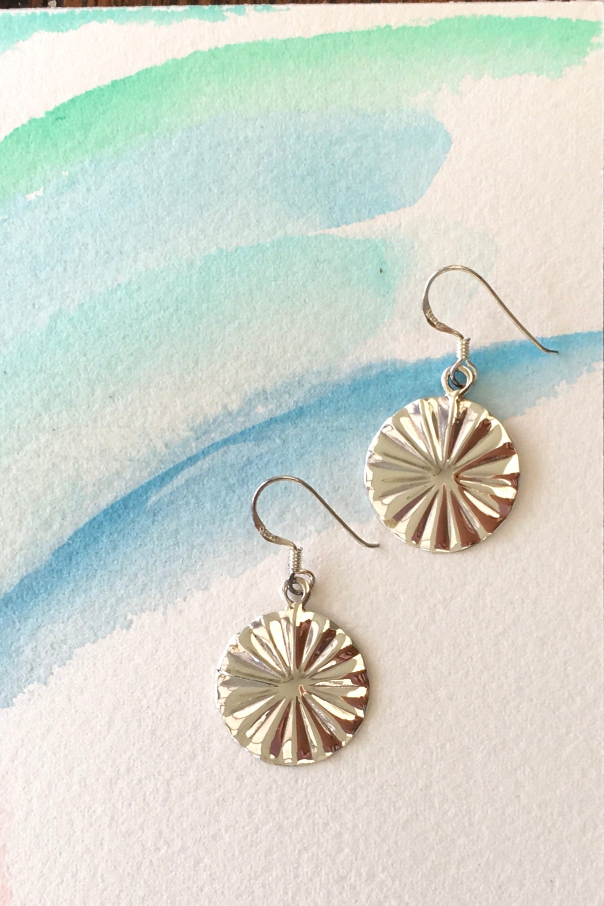 Earrings Silver Greco Hoop are ancient bohemian inspired 925 solid silver thick hoops with rustic detailing