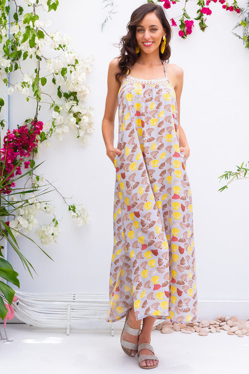 Hibiscus Shelly Beach Maxi Dress