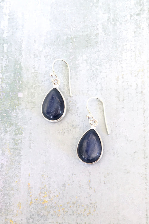 Oracle Kyanite & Silver Earrings