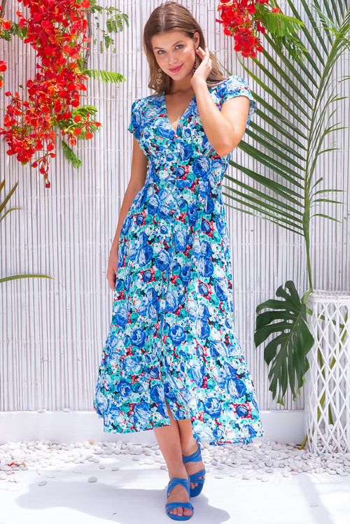 Jude Sunday Best Blue Midi Dress