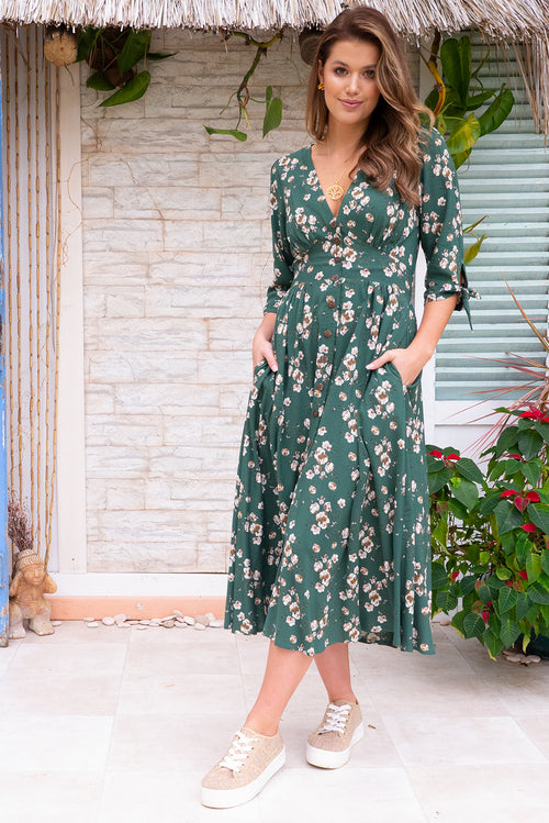 Judith Green Seasons Dress