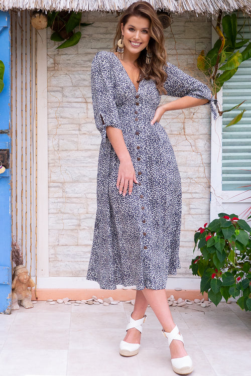 Judith Hakuna Grey Dress