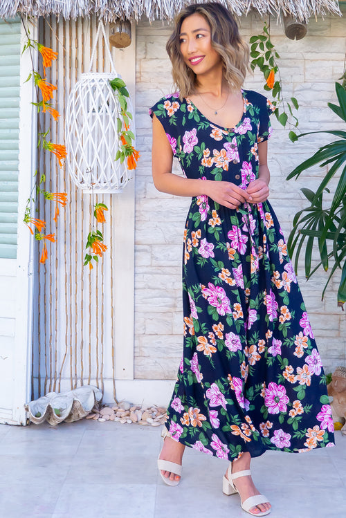 Juniper Bold Ink Maxi Dress
