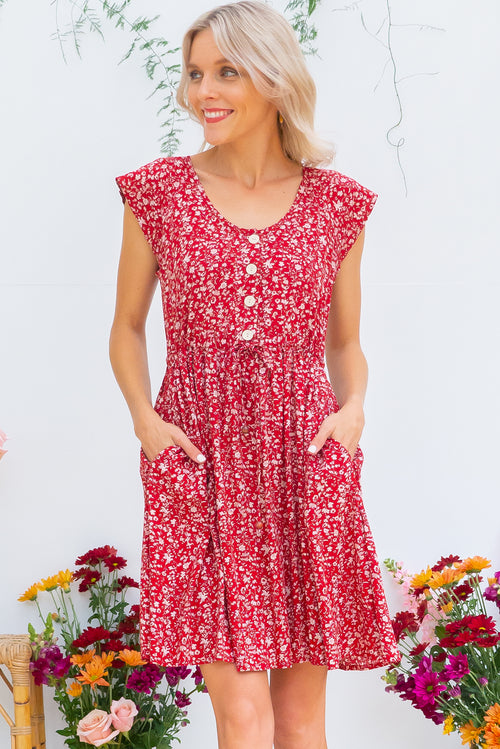Juniper Red Earth Dress