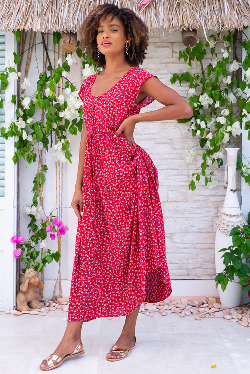 Juniper Red Earth Maxi Dress