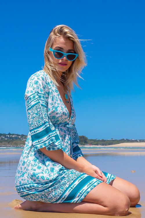 Layla Bahama Sea Mini Dress