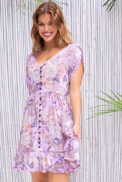 Dawn Lilac Mini Dress