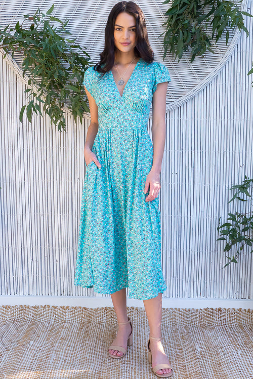 Lizzie Aurora Mint Dress