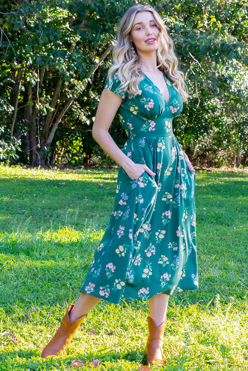 Lizzie Green Springtime Dress