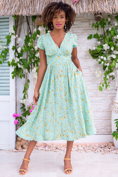 Lizzie Magical Mint Dress