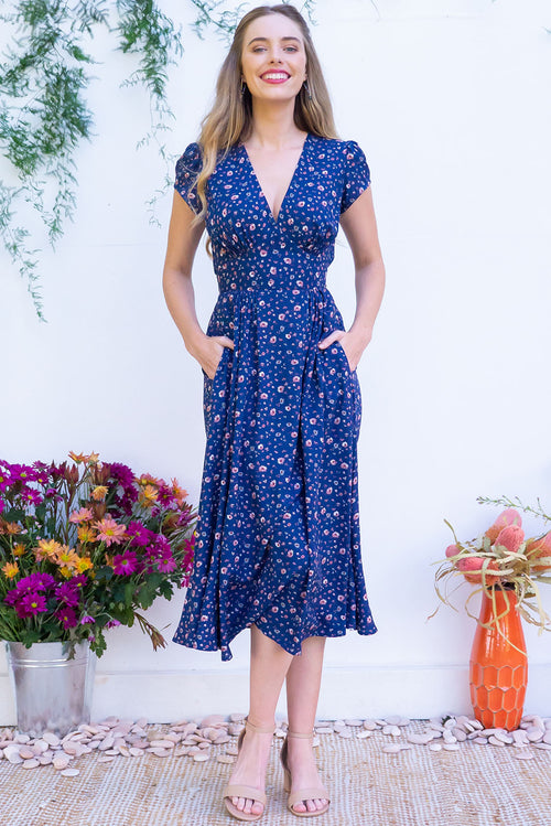 Lizzie Secret Blue Dress