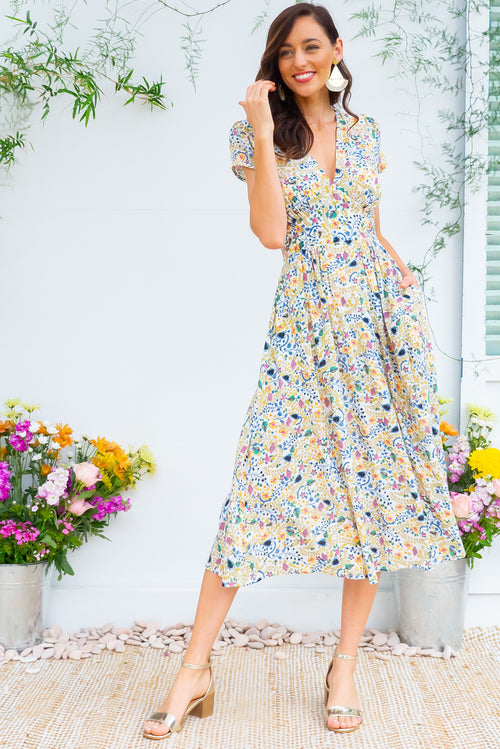 Lizzie Summer Garden Dress