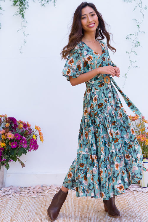Lucinda Grasslands Maxi Dress