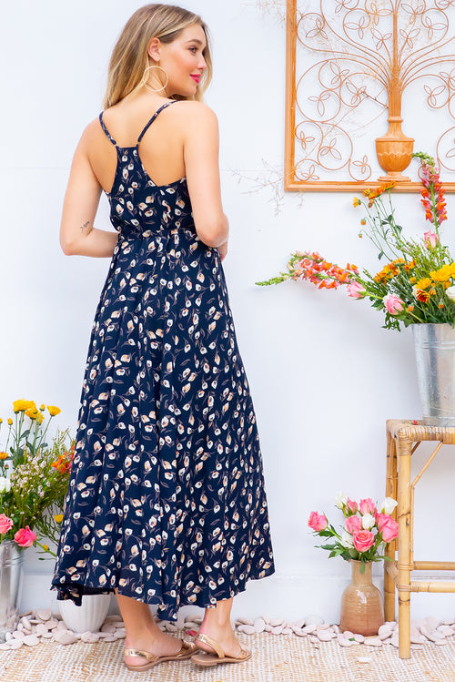 Meilani Leo Ink Maxi Dress