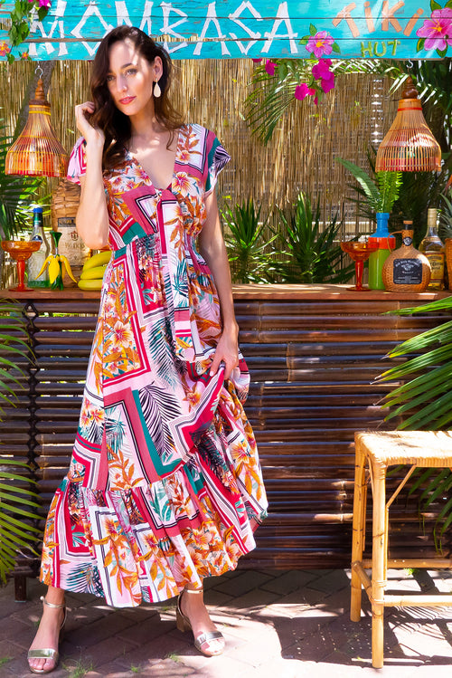 Nellie Cartagena Maxi Dress