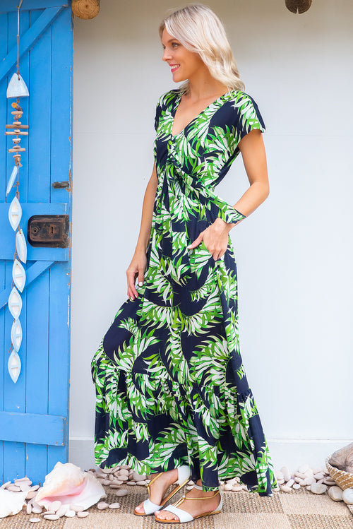 Nellie Palms Maxi Dress