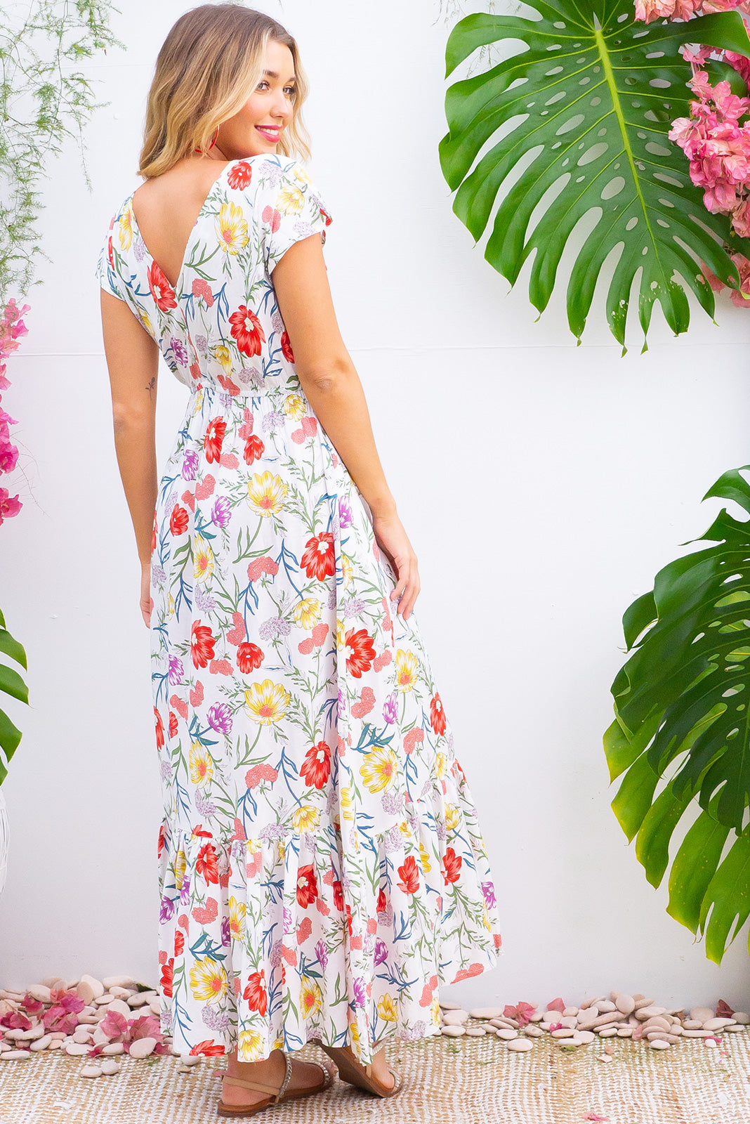 Nellie Sweet Summer Maxi Dress