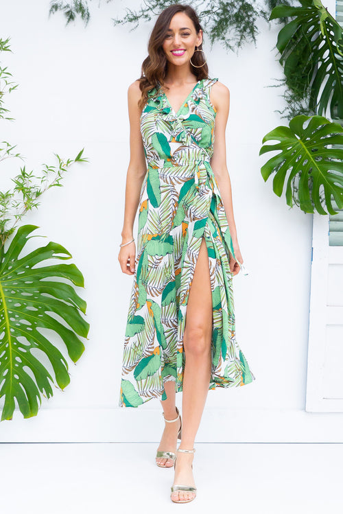 Pablo Noosa Green Dress