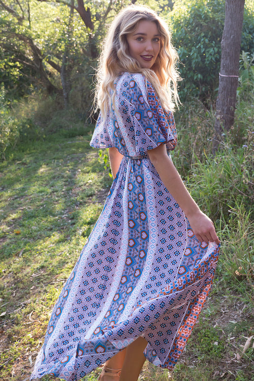 Petal Timbuktu Maxi Wrap Dress