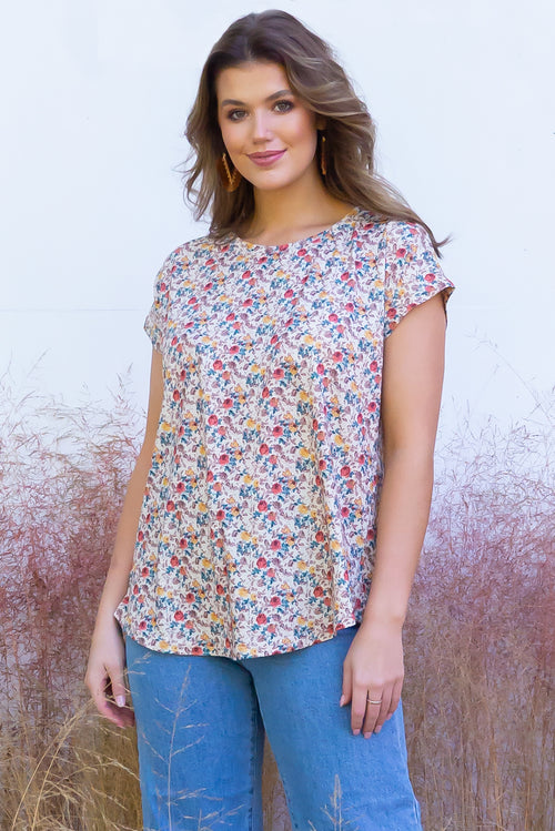 Phoenix Tee Antique Roses