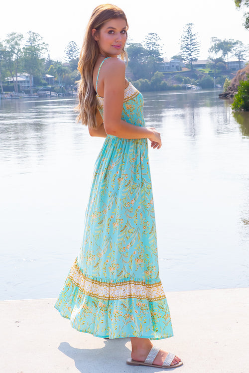 Poetry Magical Mint Maxi Dress