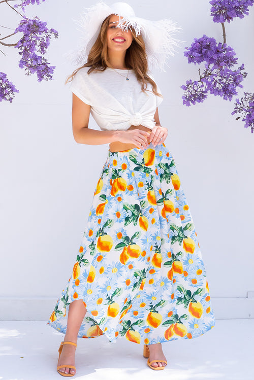 Sails Limoncello Maxi Skirt