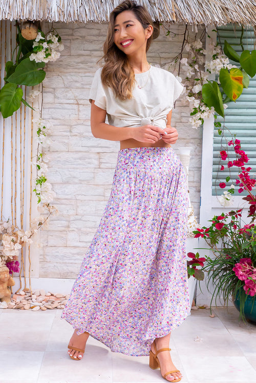 Sails Misty Mauve Maxi Skirt