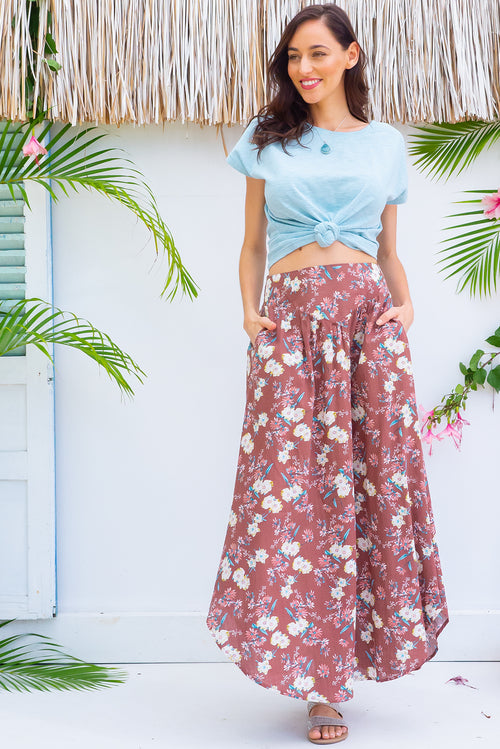 Sails Nutmeg Maxi Skirt