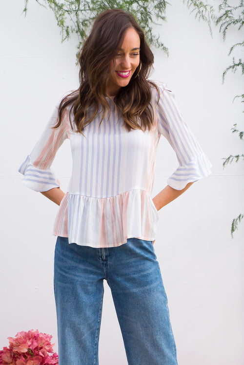 Sienna Arctic Stripes Top