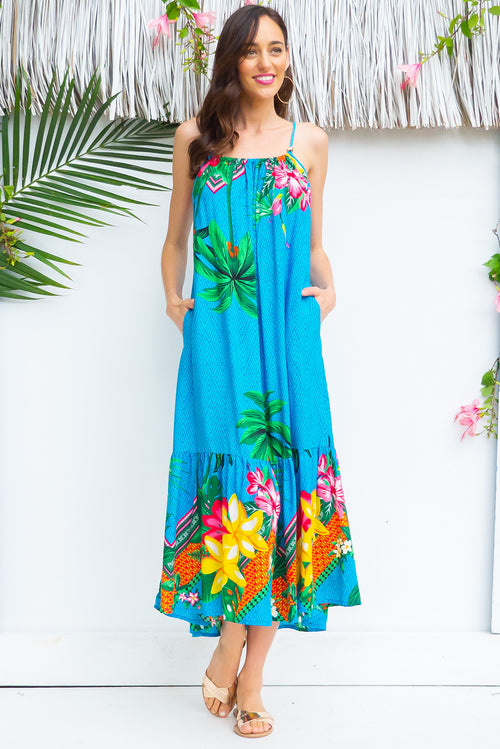 Soleil Bahama Beach Maxi Dress