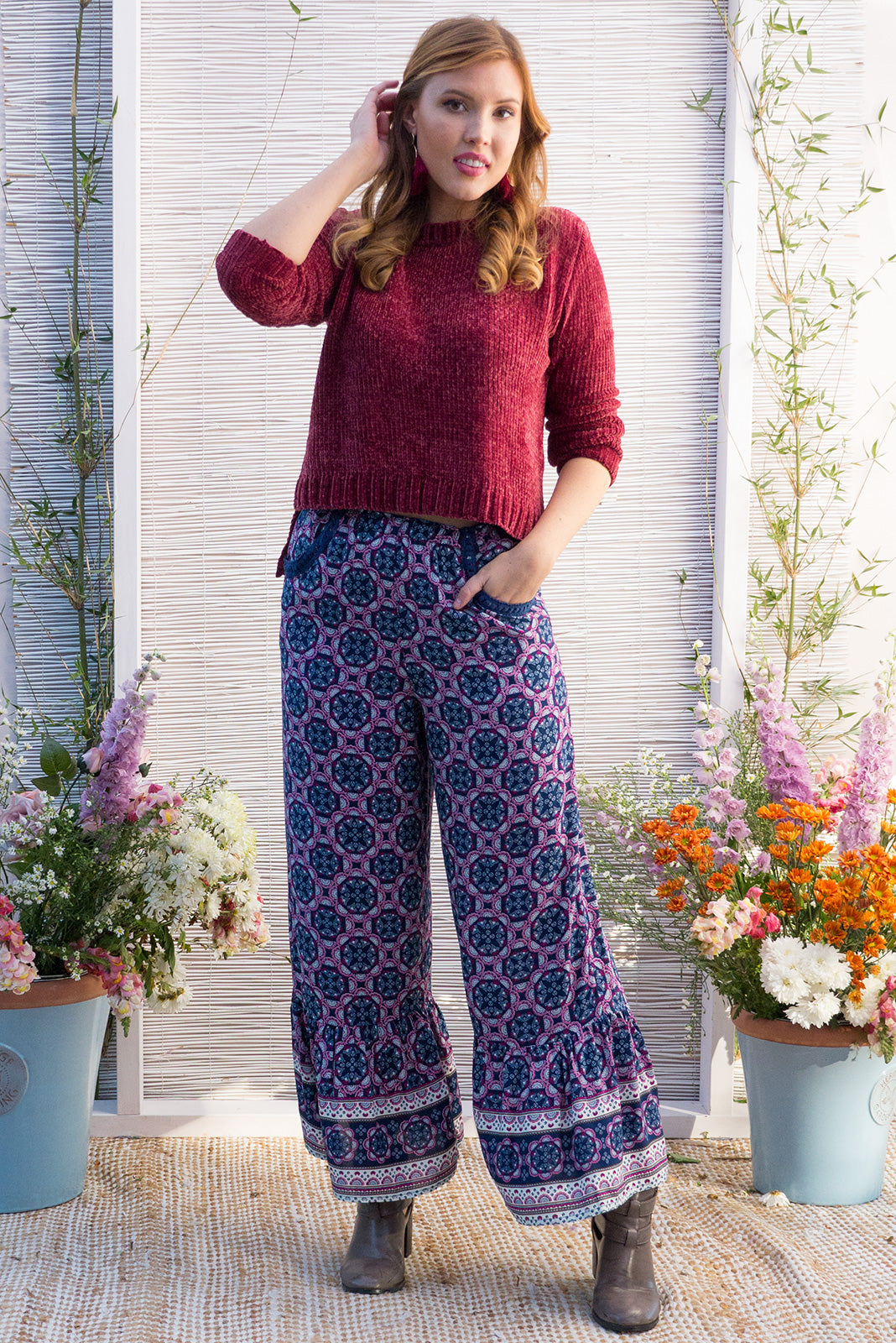 Wandering Pants Bayou Purple