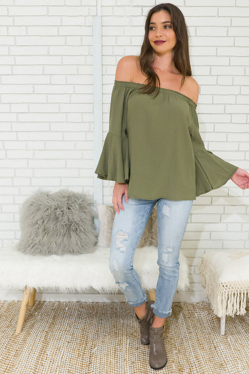 Ace Top in Sage Green