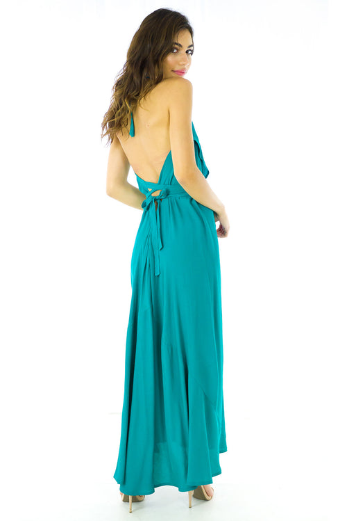 Beethoven Emerald Maxi Gown