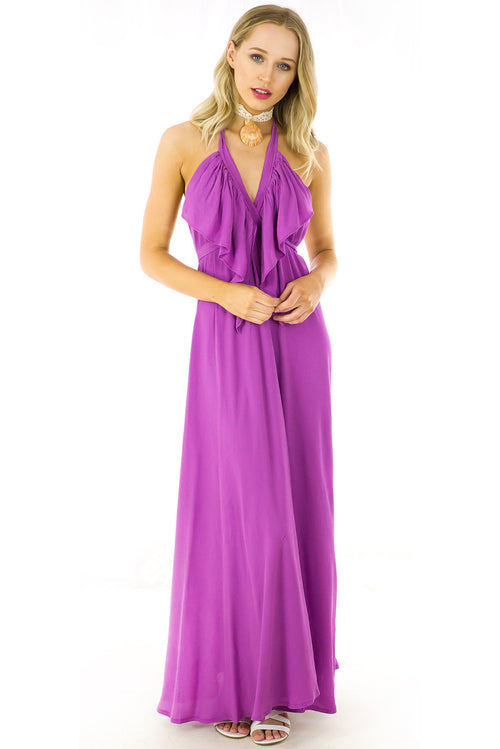 Belle Starr Maxi Dress Orchid Purple