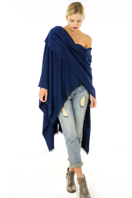 Carrie Cape in Navy